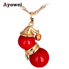 garnet jewelry real k yellow gold tone