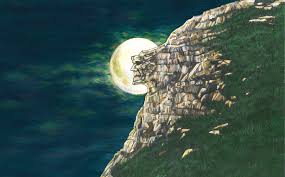 Old Man of The Mountain Painting by Priscilla Thomas