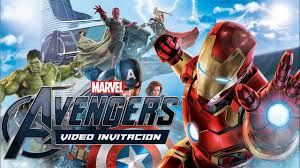 Invitacion Infantil Marvel Vengadores Youtube