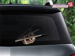 Hanging Sloth Wipertags Hang From Your Rear Vehicle Wiper Blades Wipertags