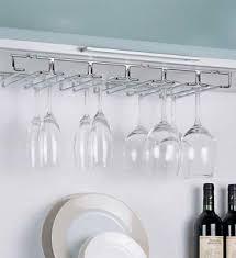stemware rack hanging storage wine