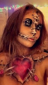 voodoo doll makeup ideas