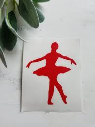 Dance Decal I Dancer Decal I Car Decal I Vinyl Decal I Etsy