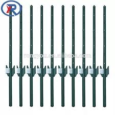 Garden Steel Fence U Post With Hole Hook Spade Buy U Post Fence Post Fence Post Holders Product On Alibaba Com