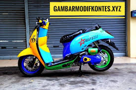 Permalink to Gambar Motor Scoopy Di Modifikasi