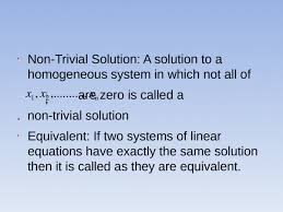linear equation the equation which