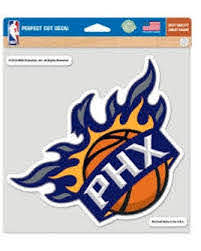 Nba Phoenix Suns Wincraft 8x8 Decal Color Official Phoenix Suns Store Suns Gear Apparel
