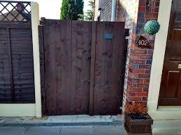 double pallet garden gate easy pallet