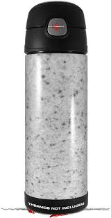 Amazon Com Skin Decal Wrap For Thermos Funtainer 16oz Bottle Marble Granite 10 Speckled Black White Bottle Not Included By Wraptorskinz Kitchen Dining