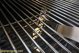 to clean snless steel grill grates