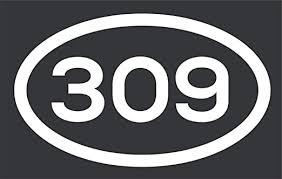 Amazon Com 309 Area Code Sticker Illinois Peoria Bloomington East Moline City Pride Vinyl Decal Sticker Car Waterproof Car Decal Bumper Sticker 5 Kitchen Dining