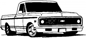 Classic Chevy Truck Car Or Truck Window Decal Sticker Rad Dezigns