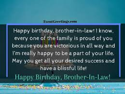 best happy birthday brother in law wishes and quotes