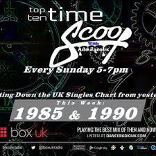 Ade Jacobs - Top 10 Time Scoop 1985 & 1990 - Box UK - 16/12/18 by Box UK  Radio danceradiouk.com | Mixcloud