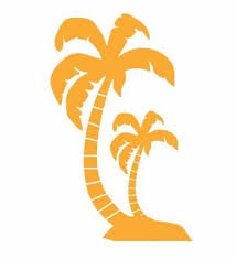 Auto Parts And Vehicles Hawaii Surfboards Palm Trees Car Window Decal Bumper Sticker Hawaiian 0361 Car Truck Graphics Decals