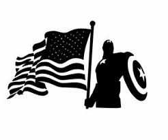 Captain America Vinyl Sticker Decal For Cars Laptops And More Ebay