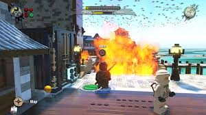 LEGO Ninjago Movie Video Game Walkthrough | Level 2: Ninjago City Beach -  Gameranx
