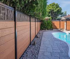 Composite Fence Boards Ezfence Elite Best Fencing In Canada And Usa
