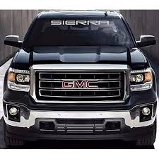 Amazon Com Gmc Sierra Windshield Decal White Default Color Home Improvement
