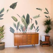 Plants Flowers Wall Decals Made Of Sundays