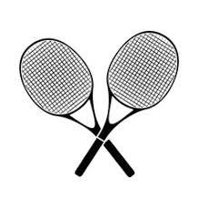 Crossed Tennis Racket Vector Images (over 150)
