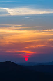 sky sunset sunrise and sun hd wallpaper