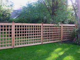 17 Lattice Fence Examples Awesome Ways To Use Lattice Fence Panels Privacy Fence Designs Lattice Fence