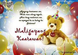 happy birthday in tagalog birthday wishes messages happy
