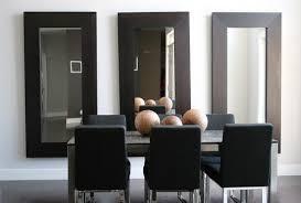nice mirrors dining room mirror wall