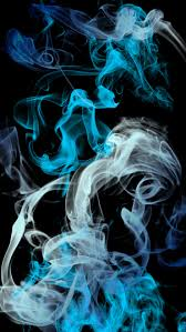 blue grey black smoke background iphone