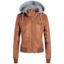 com womens leather jacket with