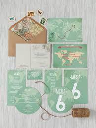 Invitacion Modelo Mapa Mundi Leblue