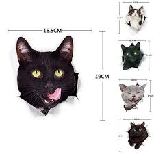 3d 5 Kinds Of Funny Cute Cat Side Car Stickers Vinyl Car Body Wall Window Decal Buy At A Low Prices On Joom E Commerce Platform