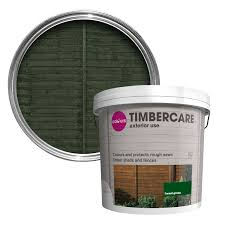 Colours Timbercare Forest Green Fence Shed Wood Stain 9l Departments Tradepoint