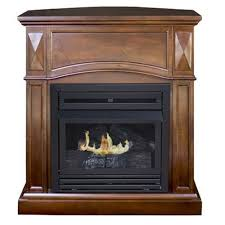 freestanding propane fireplace com
