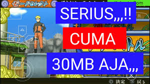 30MB) Naruto Accel 3 Ukuran Kecil ISO PPSSPP di Android Offline -  kakputra.com