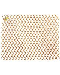 Get This Deal On Backyard X Scapes 36 In H X 72 In L Expandable Peeled Carbonized Willow Wood Trellis Fence Brown
