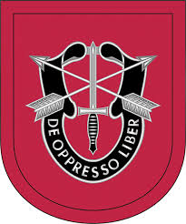 7th Special Forces Group Flash Decal