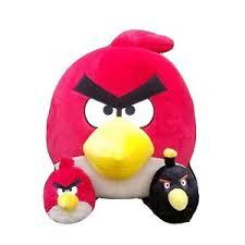 angry birds red bird stuffed plush