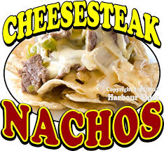 Amazon Com Harbour Signs Decal Cheesesteak Nachos For Food Concession Restaurant Truck Exterior Vinyl Sign 14 X13 Home Kitchen