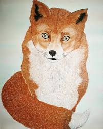 Animal Fox Kids Room Painting By Nataliya Yashchuk Saatchi Art