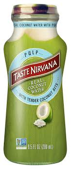 real coconut water with pulp taste