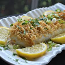 Oven-Baked Cod with Bread Crumbs Recipe ...