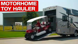 motorhomes with garages best toy