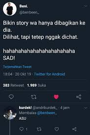 pin by a sofia on sumpah ngakak jokes quotes tweet quotes