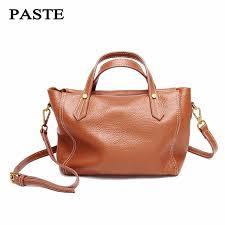 2017 brand best leather fashion women