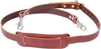 all leather shoulder strap