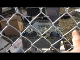Part 4 Attaching The Chain Sliding Gate Opener Sl600ac Youtube