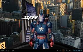 iron man 3 live wallpaper for android