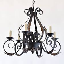 french iron chandelier the big chandelier